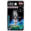 LEDローソク球 E12/0.5W 昼白色 [品番]07-6472