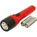 乾電池付き懐中ライト 単3形×2本付属 [品番]07-7403