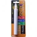 電池式LEDローソク 全長150mm [品番]07-7733