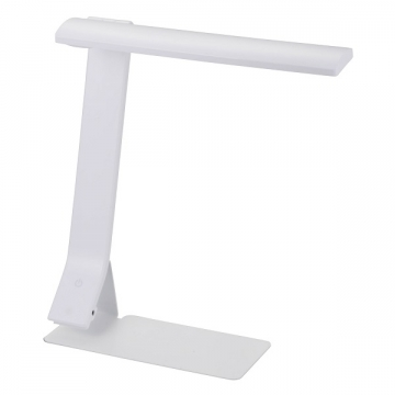 LEDデスクライト ODS-L18D ホワイト [品番]07-8078