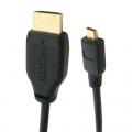 HDMI-micro HDMI ケーブル 2m [品番]05-0290