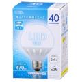 広配光/密閉器具対応 LEDボール球 E26/5.4W 昼光色 [品番]06-1612