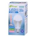 LED電球 20形相当 E26 昼光色 広配光 密閉器具対応 [品番]06-2928