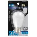 LED電球 装飾用 サイン球 E26 昼白色 [品番]07-6487