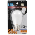 LED電球 装飾用 サイン球 E26 電球色 [品番]07-6488
