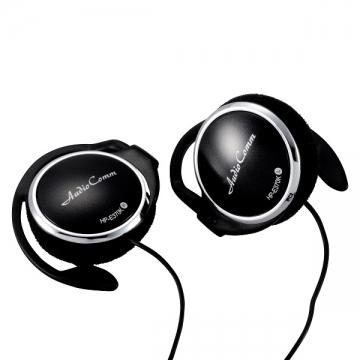 ポータブルステレオヘッドホン E370K ブラック [品番]03-2703