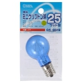 昼光ミニクリプトン球 25形相当 PS-35 E17 クリア [品番]04-6619