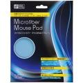 マイクロファイバー マウスパッド ブルー [品番]01-3457
