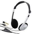 AudioComm オーディオ用 ステレオヘッドホン 3m [品番]03-1761