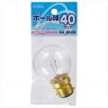 ピン式ボール球 B-22D/40W クリア [品番]04-6628