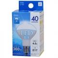 LED電球 ミニレフランプ形 40形相当 E17 昼光色 [品番]06-0204