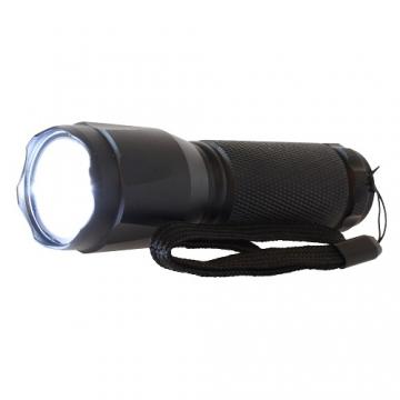 SOSモールス信号パターン点滅機能付き LEDトーチライト [品番]07-8246