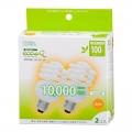 電球形蛍光灯 エコデンキュウ スパイラル形 E26 100形相当 電球色 2個入 [品番]04-3192