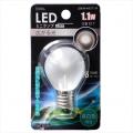 LED電球 装飾用 ミニランプ E17 フロスト 昼白色 [品番]06-3226