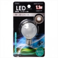 LED電球 装飾用 ミニボール E17 フロスト 昼白色 [品番]06-3229