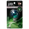 LED電球 装飾用 ミニボール E17 グリーン [品番]06-3241