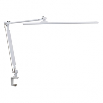 LEDタッチ式 調光アームライト ホワイト [品番]07-8116