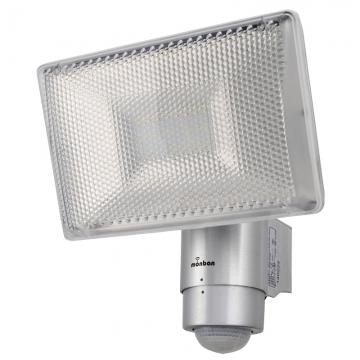LEDセンサーライト 1200ルーメン シルバー [品番]07-8206