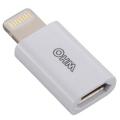AudioComm ライトニングコネクタ変換アダプター micro USB-Lightning [品番]01-7032