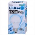 LED電球 40形相当 E26 昼白色 [品番]06-3140