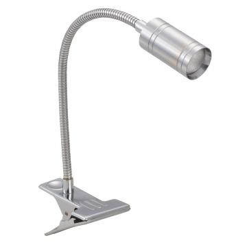 LEDクリップライト  アルミボディ 電球色 [品番]06-1399