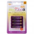 充電式電池 エコルーバEX 単4×4本入 [品番]07-6319