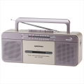 AudioComm AM/FM ステレオラジオカセットレコーダー [品番]07-9729