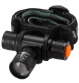 「CAMBIO」 LEDアルミヘッドライト ブラック [品番]07-8025