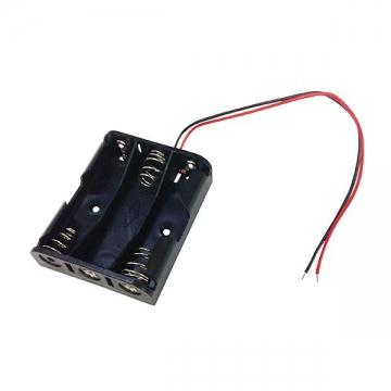 電池ケース 単3×3 リード線付 [品番]00-1839