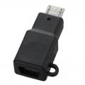 MicroUSB Bタイプ-USBミニ Bタイプ 変換コネクター [品番]01-3396