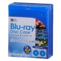 ブルーレイ ディスクケース 2枚用 5個パック [品番]01-3605