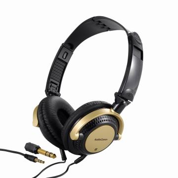 AudioComm DJスタイルヘッドホン 2m [品番]03-2869