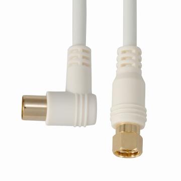 デジタルTVケーブル S3C-FBL F型接栓‐Lプラグ 2m [品番]06-0029