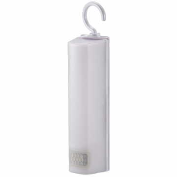 LEDハンガーセンサーライト 人感・明暗 白色LED [品番]06-1632