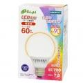 LED電球 ボール電球形 60形相当 E26 電球色 [品番]06-2991
