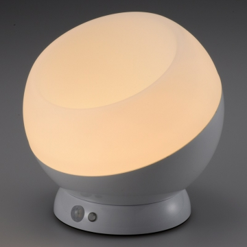 LEDムードライト 人感・明暗センサー 電球色LED [品番]07-9831