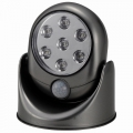 室内・室外兼用7LEDセンサーライト グレー [品番]07-8362
