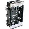 電設資材 浅型スライドボックス 1ヶ用 [品番]00-9127