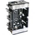 電設資材 台付スライドボックス 1ヶ用 [品番]00-9129