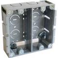 電設資材 パネルボックス 2ヶ用 [品番]00-9132