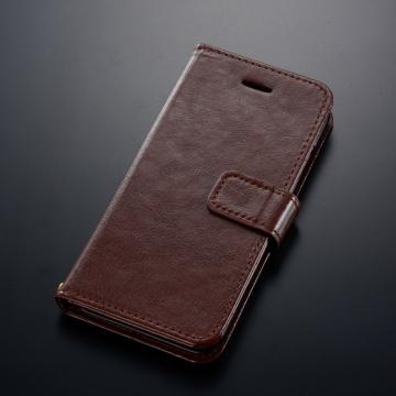 iPhone6専用 ブックタイプケース ブラウン [品番]01-2353