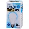 LED電球 60形相当 E26 昼白色 密閉器具対応 [品番]06-3004