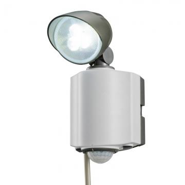 LEDセンサーライト 1灯式 [品番]07-5597