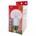 LED電球 40形相当 E26 電球色 密閉器具対応 [品番]06-0215