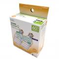 電球形蛍光灯 エコデンキュウ スパイラル形 E17 60形相当 電球色 2個入 [品番]06-0247