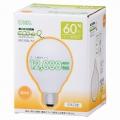 電球形蛍光灯 エコデンキュウ G形 E26 60形相当 電球色 [品番]06-0261