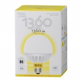 LED電球 ボール球形 E26/15W 電球色 [品番]06-3095