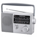 AudioComm AM/FMポータブルラジオ 777 [品番]07-7777