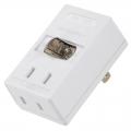 LEDスイッチタップ 2個口 [品番]00-2241