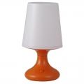LEDナイトスタンド 乾電池式オレンジ [品番]06-0447